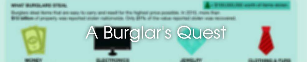 Burglar's Quest Infographic