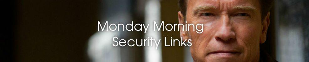 Security Links: Schwarzenegger ID