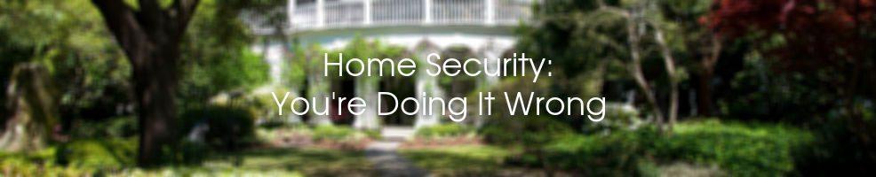 Home Security Charleston SC