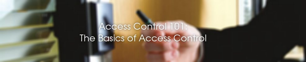 Access Control Basics