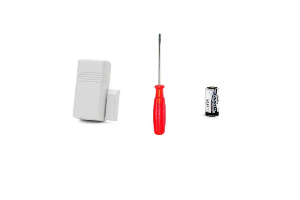 How To Replace The Battery In Your Wireless Window/Door Sensor