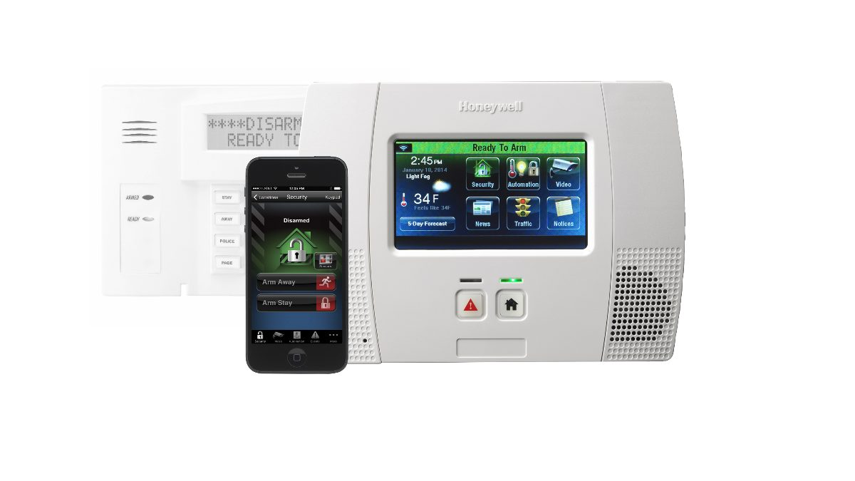 New Touchscreen Home Security System Keypad