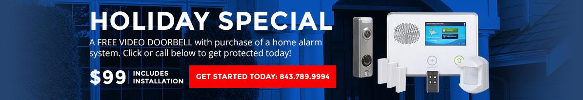 Home Security System Kit Charleston, SC